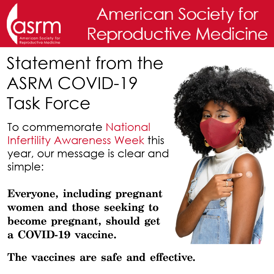 NIAW Statement by the ASRM COVID-19 Task Force